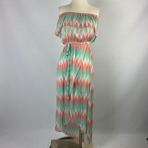 Cynthia Rowley Small Dress Sleeveless Waterfall
